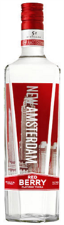 New Amsterdam Vodka Red Berry 1.00l